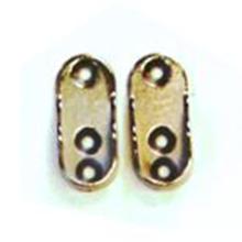 Aluminium wardrobe clip