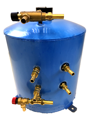 30 Litre Vertical Twin Coil Surecal Calorifier