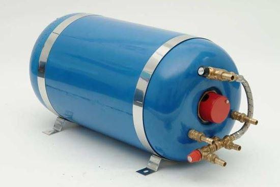 Picture of 55 litre horizontal single coil Surecal calorifier